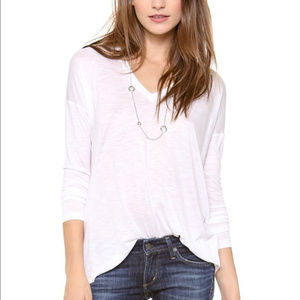 Madewell anthem long-sleeve v-neck tee E1667
